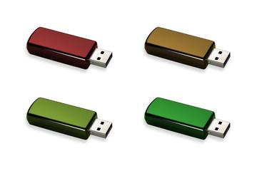 Flash drive selection