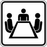 Besprechung Symbol