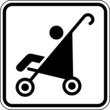 Kinderwagen Buggy Baby Schild Zeichen Symbol