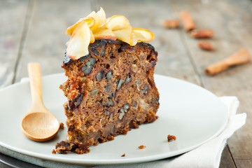 Simple apple cake image