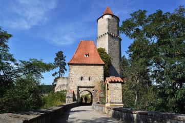 Сastle Zvikov. Czech republic