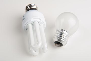 Electricity saving light bulbs