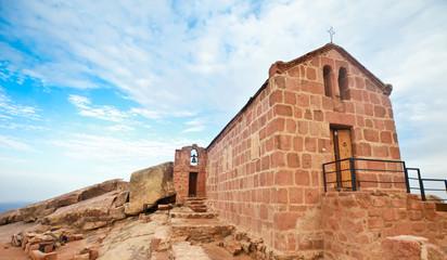Chapel on mount sinai