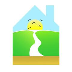 casa - paesaggio / House - Landscape