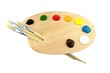Paint brushes, colors and pallet - 36500390