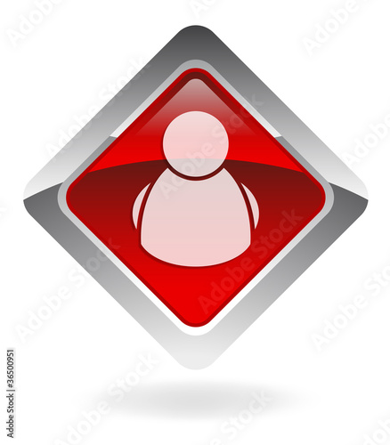 "red vector button ""buddy-list"""