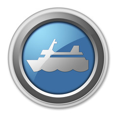 """3D Style Button """"Cruise Liner"""""""
