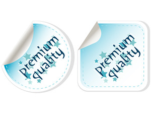 Premium Quality Button Label