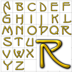 abc alphabet background isadora design