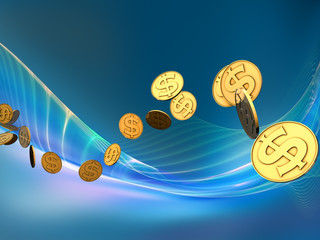 Golden Dollar Wave