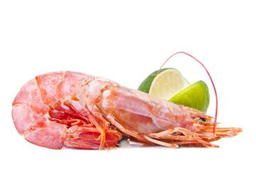 marisco fresco con limón