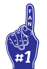 foam finger - fan finger