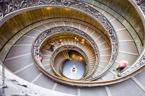 Foto op Plexiglas Trappen Spiral staircase.