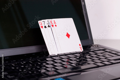 online poker gambling . poker cards
