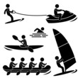 Water Sea Sport Skurfing Rowing Windsurfing Rafting