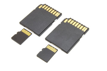 Secure Digital memory cards