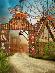 Brama do wędrownego cyrku