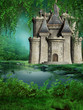 Zaczarowany zamek nad jeziorem