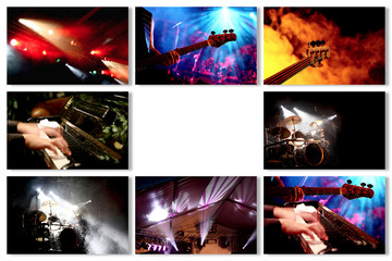 Musik Event Collage