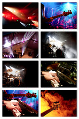 Collage Music-Event