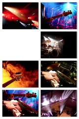 Konzert Event Collage