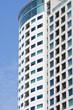 Condo Balconies and Windows on Blue Sky