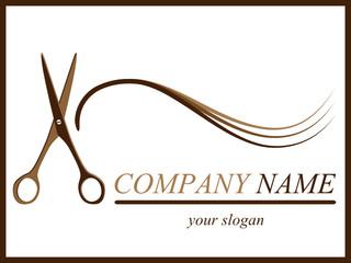 Friseur - Firmenzeichen