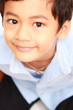 Smiling face Asian boy