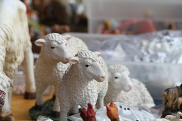 presepe - pecore