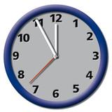 Uhr_Zeit_just in time_termin_Wanduhr