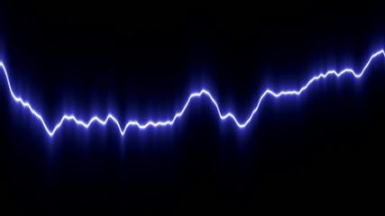 Light curved line