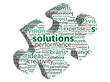 SOLUTIONS Tag Cloud (jigsaw piece questions and answers ideas)