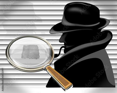 Detektiv auf Spurensuche