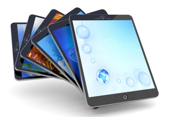 Collection of Tablet PC