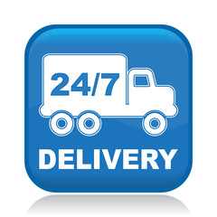DELIVERY 24/7 ICON