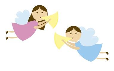 angels cartoons