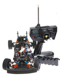 rc radio control car without body shell