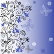 Gentle blue background