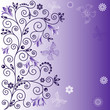 Gentle violet background