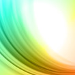 Abstract colorful smooth lines background
