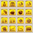 button Yellow Economic