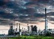oil power station