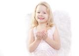 kind spaß engel poster