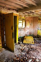 old derelict room