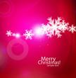 Vector violet Christmas card