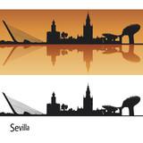 Fototapety Seville Skyline