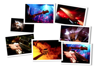 Musik-Event Collage