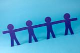 partnership concept poster