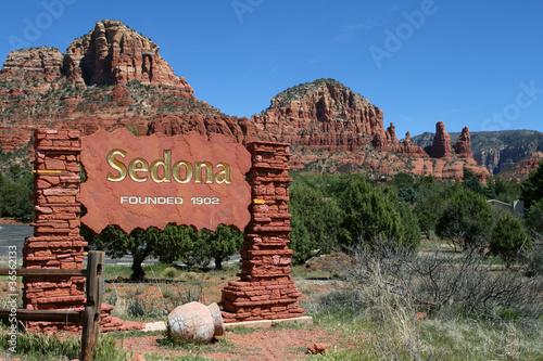 Leinwanddruck Bild Sedona, Arizona