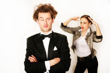 Ehepaar mit Problemen